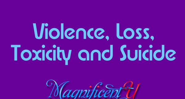 Suicide Causes: Violence, Loss, & Toxicity