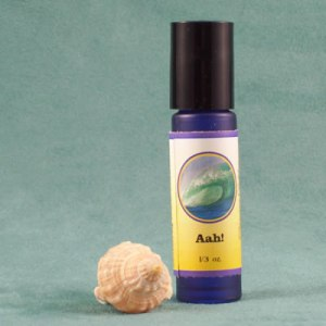 Aah! Helichrysum Pain Relief Aromatherapy Flower Essences Gem Essences by Dancing Dolphin