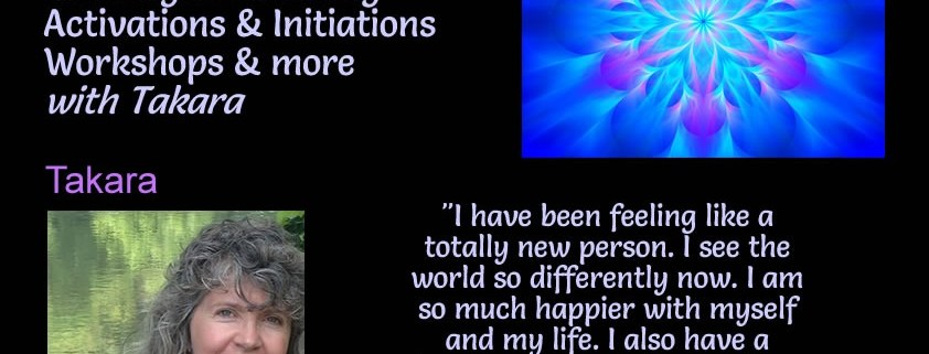 Long Distance Energy Healing Sessions with Takara