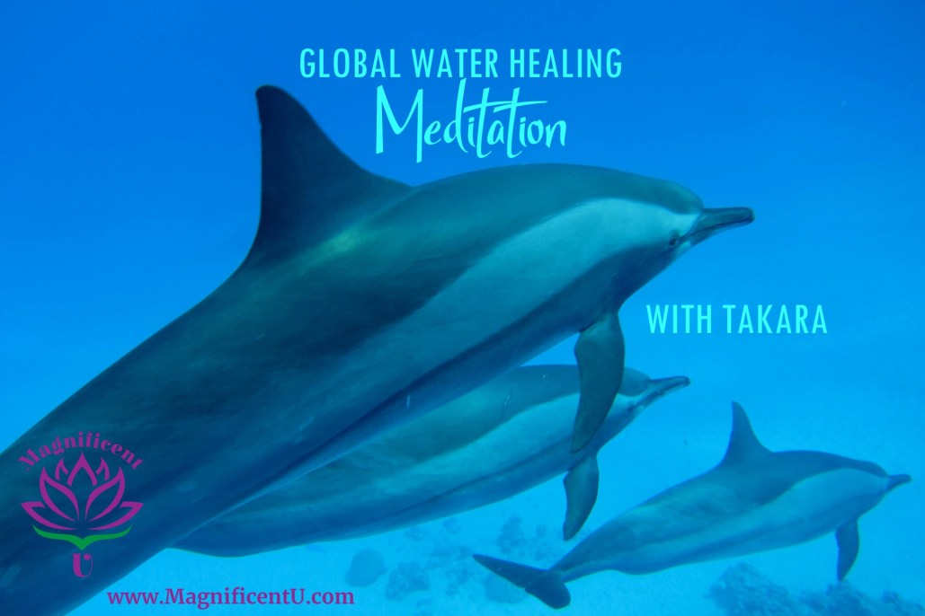 Global Water Healing Meditation with Takara