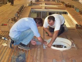 Manutenzione barche in legno