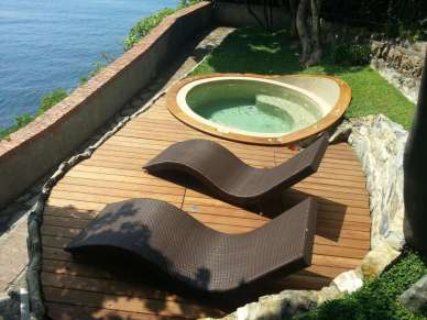 Bordo in teak per Jacuzzi