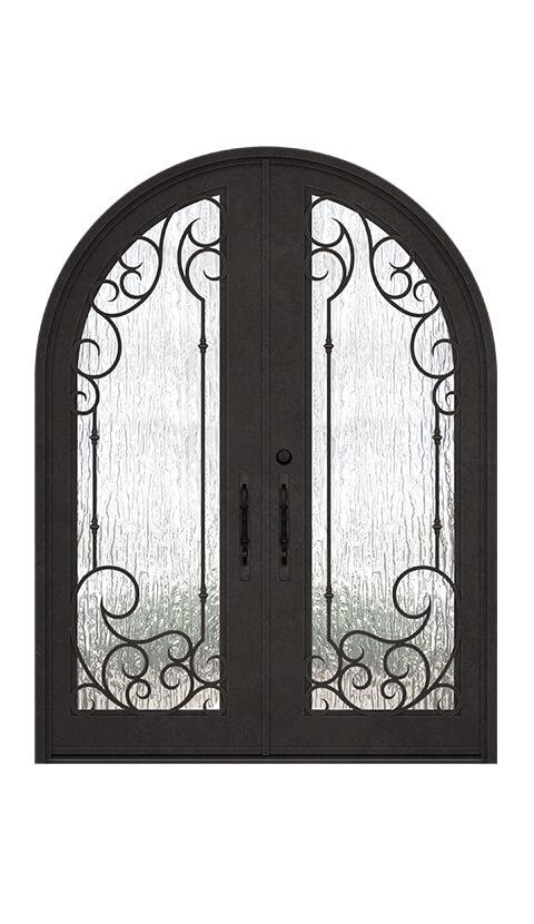 ROUND TOP - DOUBLE DOOR