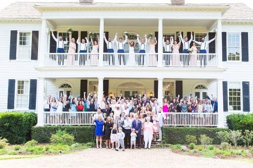 Wedding Group Photo
