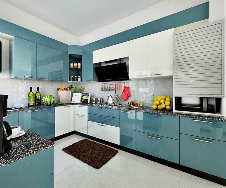 Modular Kitchen - Magnon India | Best Interior Designer in ... on Model Kitchen Design  id=31177