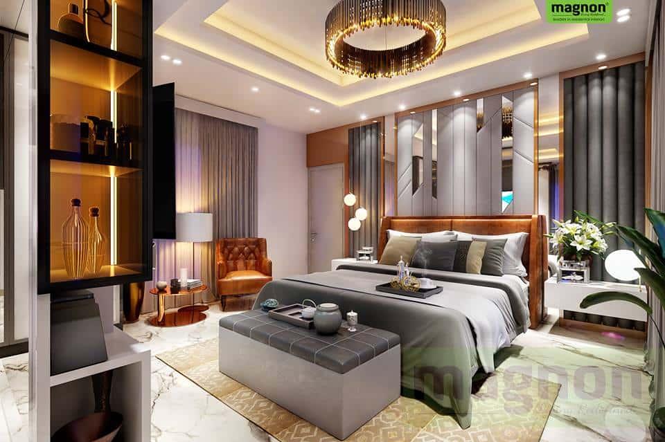 Top Bangalore Interior Designers - Luxury Master Bedroom ... on Best Master Bedroom Designs  id=80704