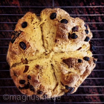 Baking breaks between revising. March 18, 2013 - I'm almost done with version 2 of my book. Thought I'd celebrate with some Irish soda bread. {Recipe by Rachel Allen.}