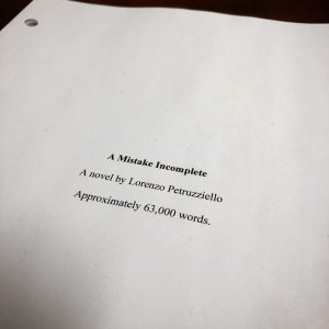 Announcing: A Mistake Incomplete