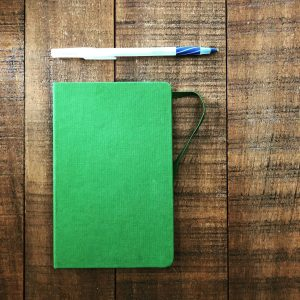 My New Writer's Notebook is Empty
