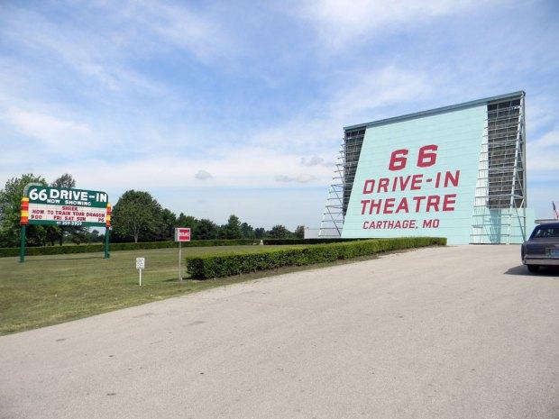66 Drive-In Theatre - Carthage, Missouri