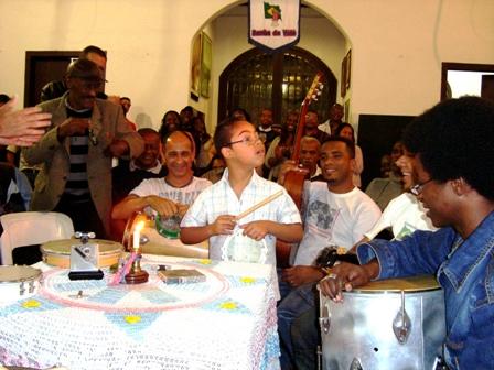 Kaique faz a festa na roda de samba - Álbum 11/08/08