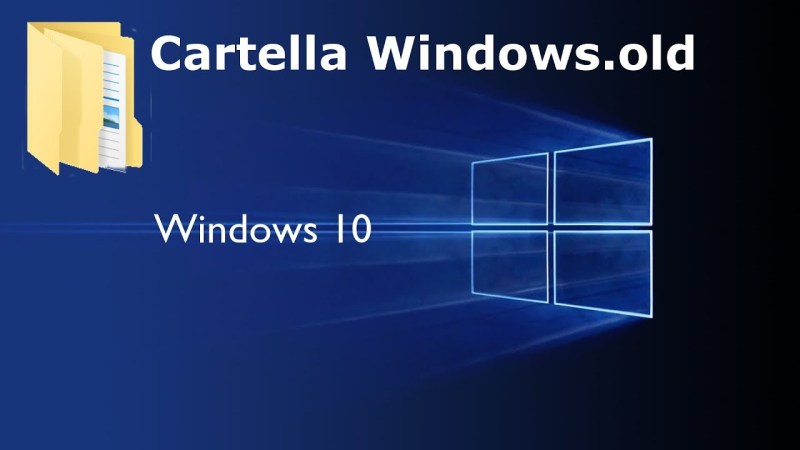 Come eliminare Windows.old per liberare spazio su disco