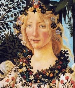Flora from Botecelli's La Primavera