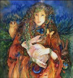 Ostara by Helena Nelson Reed
