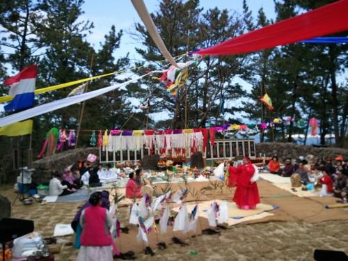 Chilmeori Shrine Ritual to Yeongdeung