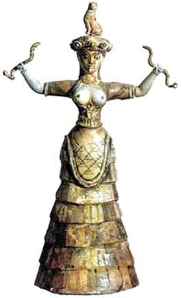Minoan Serpent Mother Goddess