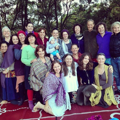 First circle at School of Shamanic Midwifery, Sydney