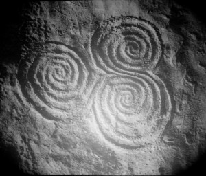 Triple Spiral from Bru-na-Boinne in Ireland
