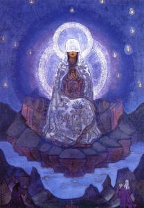 Mother of the World, Nikolai Roerich, 1924