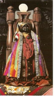 AS black madonna