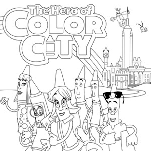 city coloring pages # 61