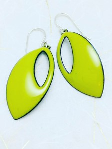 lime-green-cutout-earring