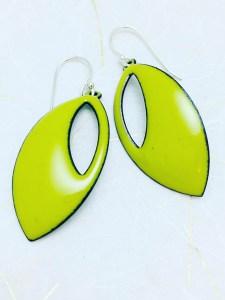 lime-green-cutout-earring