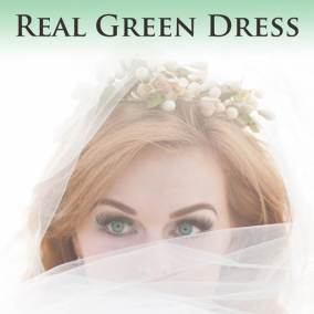 Vintage gowns: Real Green Dress