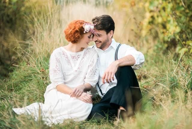 Heartfelt Vintage Wedding Dresses as featured on the National Vintage Wedding Fair blog