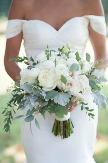 Flower wedding bouquet by Tie The Knot as featured on The National Vintage Wedding Fair