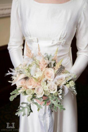 Vintage wedding dresses at Harrogate taken by Lucille Loves at The National Vintage Wedding Fair