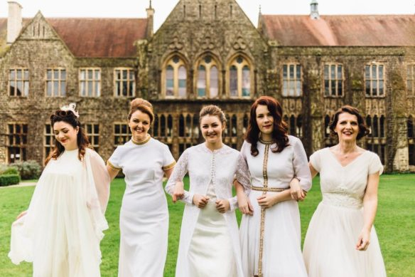 Our Cheltenham Wedding Fair at the Ladies College - The National Vintage Wedding Fair