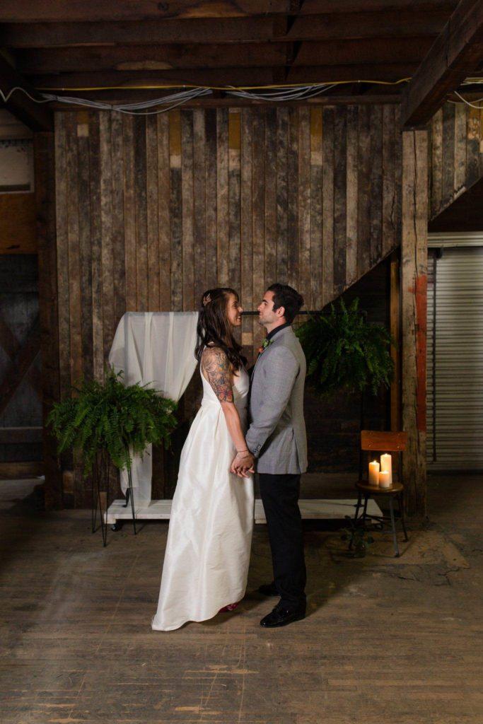 Industrial Minimalist Wedding Inspiration