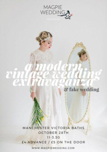 Manchester Modern Vintage Wedding Extravaganza Poster