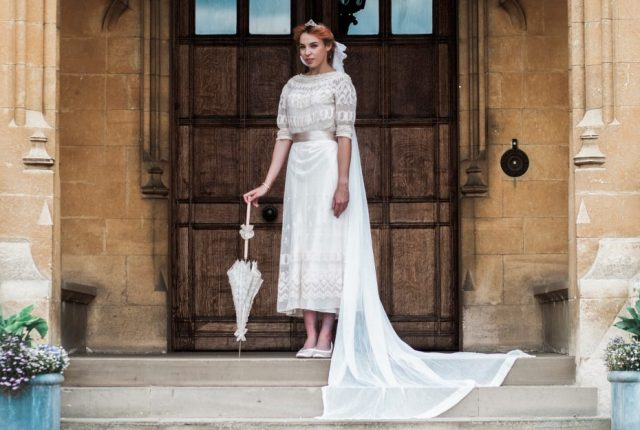 Vintage Wedding Dress Inspiration - The Edwardian Era