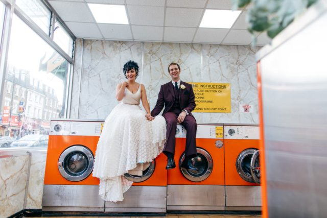 Retro London Wedding with Eclectic Styling and Disco Vibes