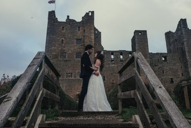 Luxury Labyrinth Halloween Wedding at Bolton Castle