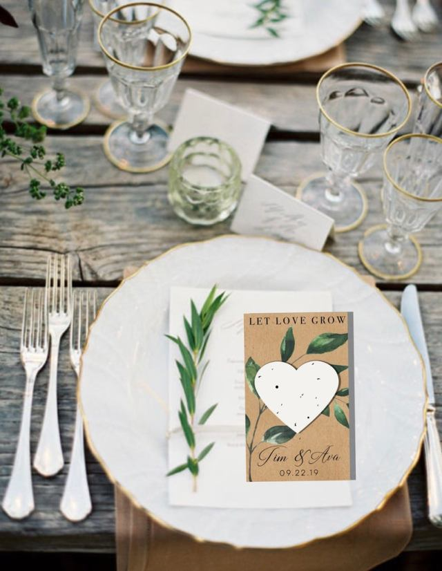 Eco-Friendly Wedding Favours: Our Top 7 Ideas For Your Wedding Day