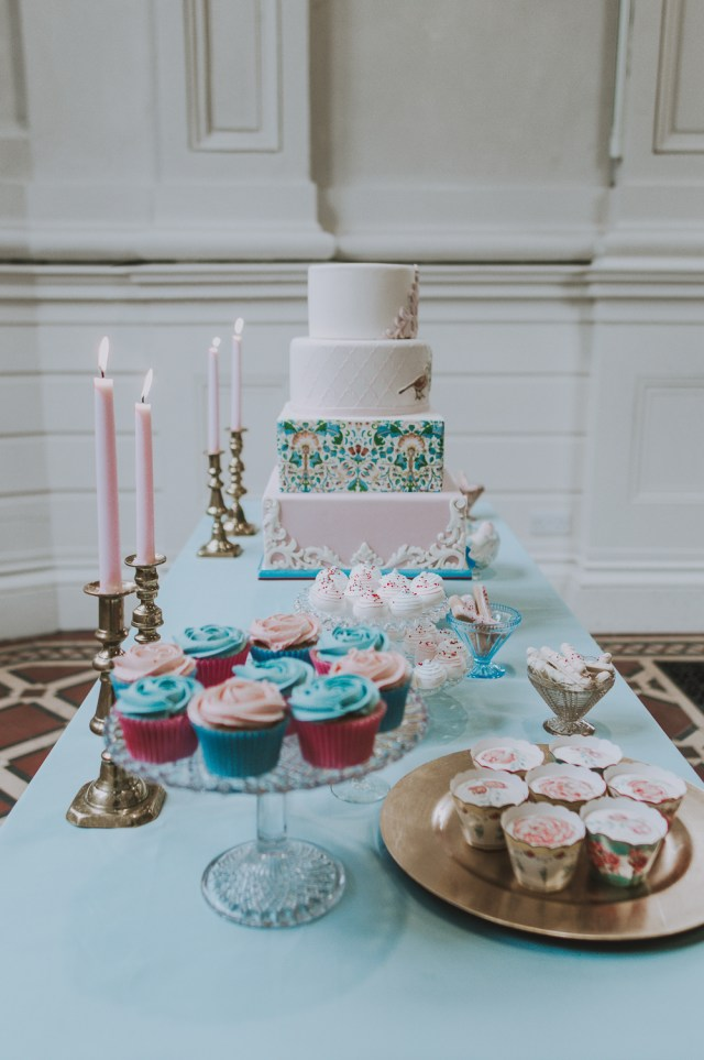 Chintzy Vintage Wedding Inspiration with William Morris Alternative Style