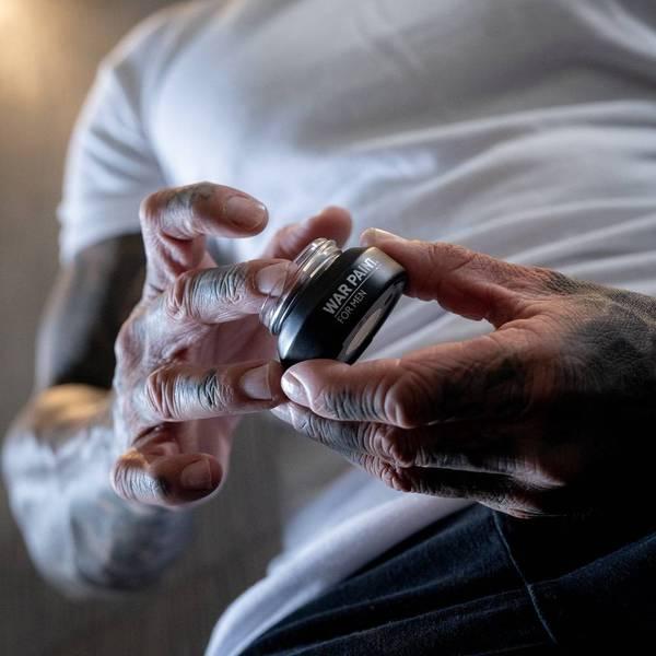 Men's Mental Health Awareness Week; Breaking Down Barriers With Makeup For Men By War Paint