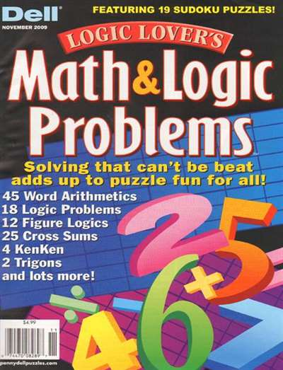 Logic Lover's Math & Logic Problems Magazine Subscription ...