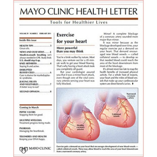 Mayo Clinic Health Letter Subscription