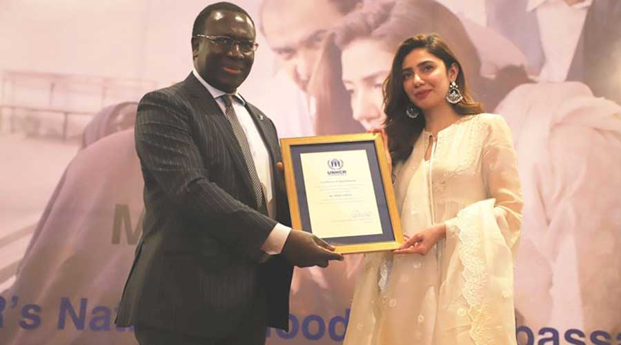 Mahira Khan appointed as the UNHCR Goodwill Ambassador for Pakistan | Fab  Fun Find - MAG THE WEEKLY