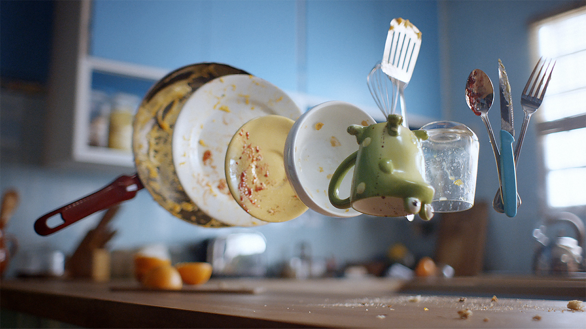 Dishes, Unlike People, Don't Do Themselves via @theMagunga