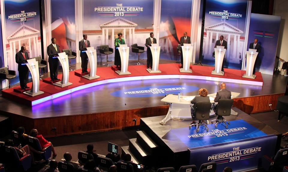 kenya presidential debate 2013