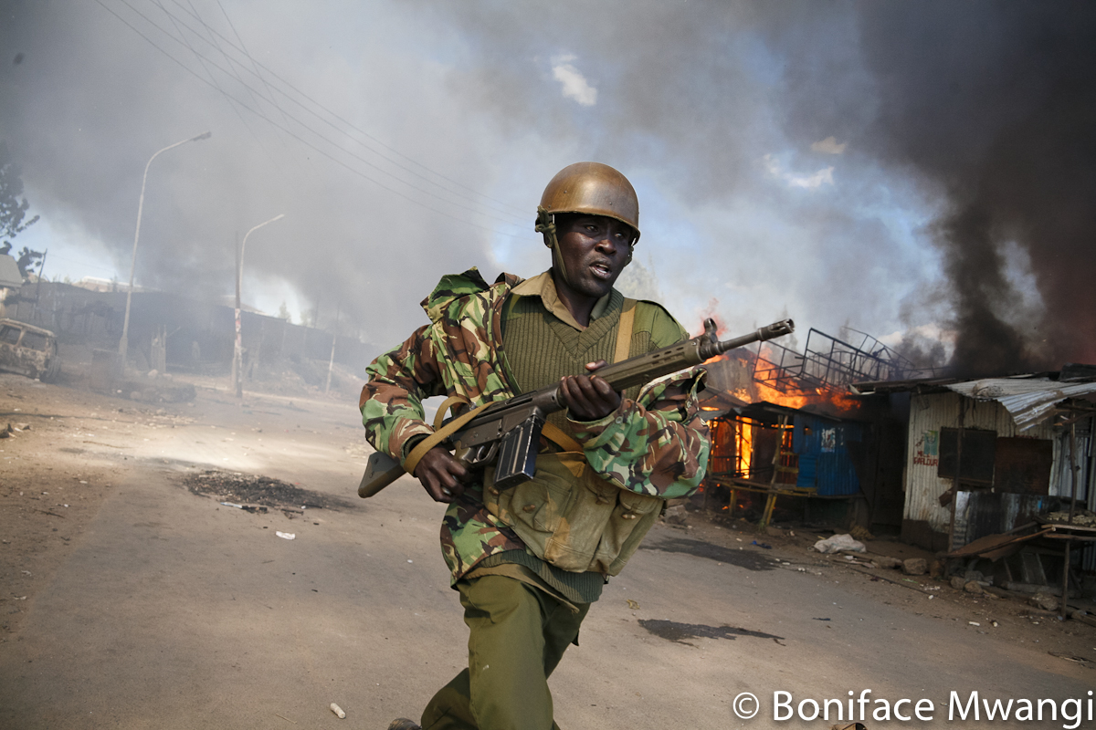 Post Elections Violence by Boniface Mwangi