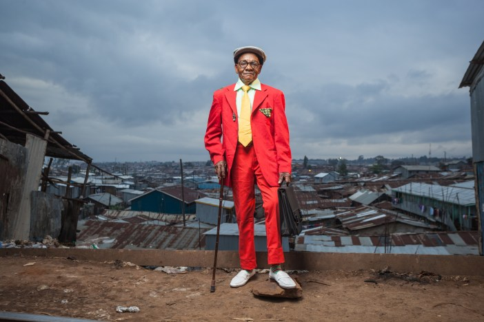 Kenyan Sapeur of Kibera. Shot by Osborne Macharia, Capture Kenya 2014