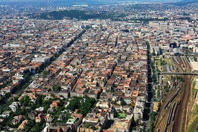 Terézváros légifotó