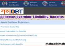 Mahadbt Scholarship List, Schemes, Eligibility, Benefits, Documents & Process 2021. 2