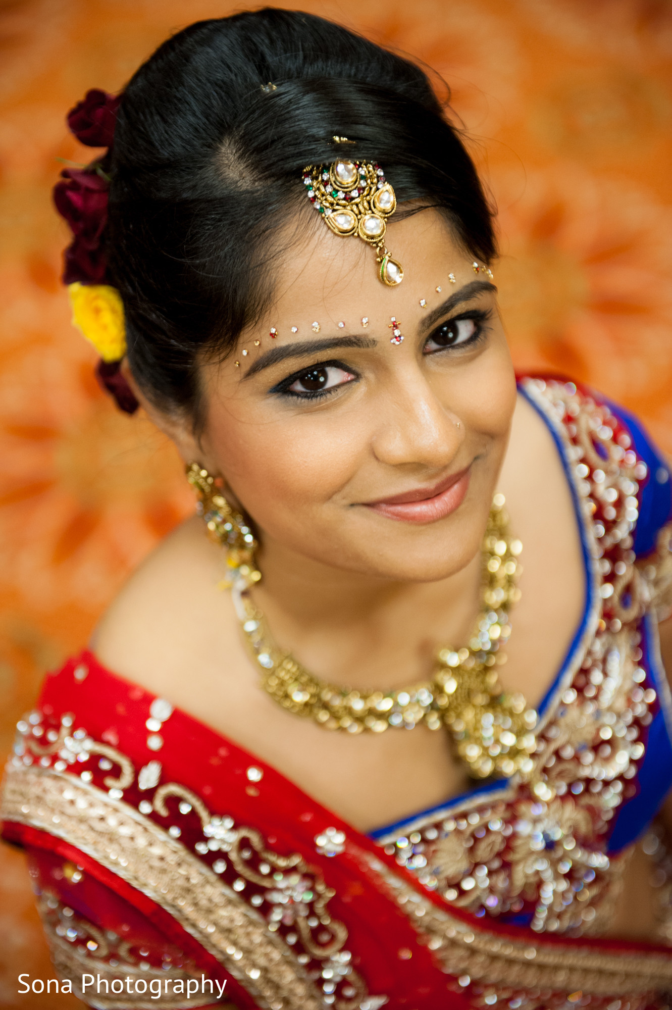 Terrific Hairstyles for Indian Wedding Reception Design